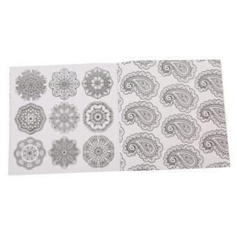 Detail Gambar Produk HengSong Secret Garden Zen Mandala And Coloring Book English12pages Terbaru