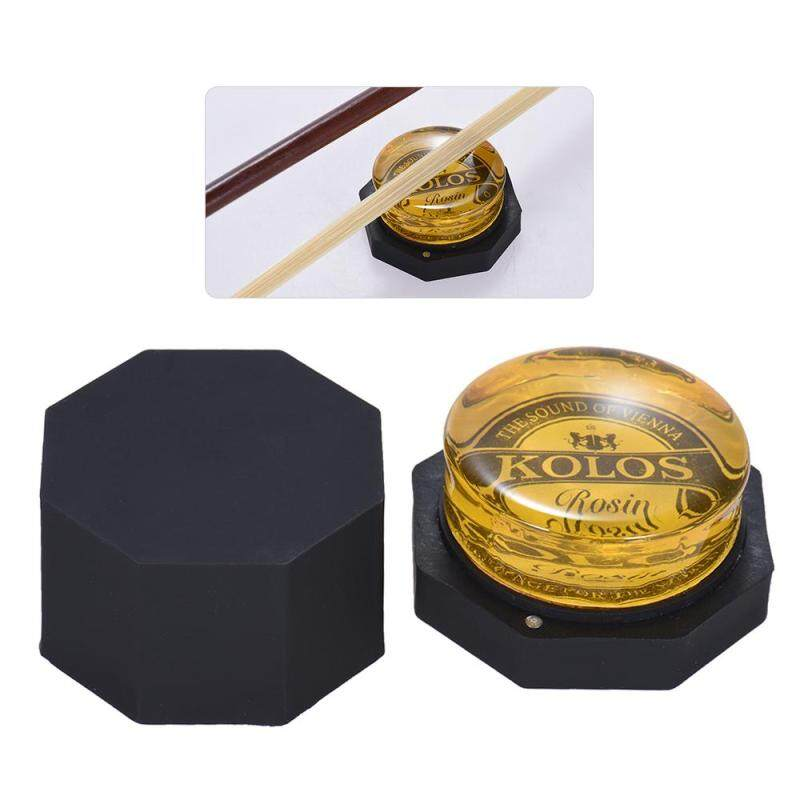 High-Class Low Dust Yellow Rosin Colophony Transparent Rounded Universal for Bowed String Musical Instrument Violin Viola Cello Erhu Malaysia