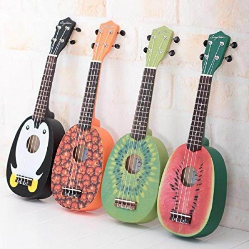 HOT SEAL 21in Cute Pineapple Shape Handmade Carving Dapper Beginners Concerts Ukuleles Uke Malaysia