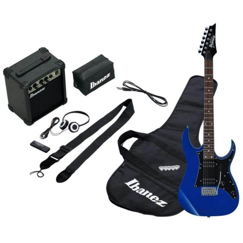 Ibanez IJRG200E Jumpstart Electric Guitar Package (Blue) Malaysia