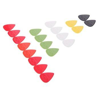 Harga Alice AP-G 20pcs 0.96mm Projecting Nylon Guitar Picks Plectrums
