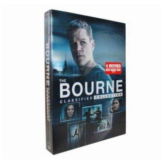 Harga The Bourne Identity - Complete 1-4 Film Collection DVD, 5-Disc Box Set