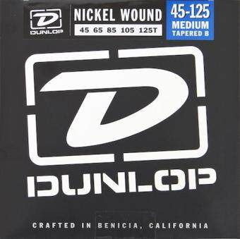 Harga Dunlop DBN45125T Nickel Wound Bass Strings w/ Tapered B, Medium, .045–.125, 5 Strings