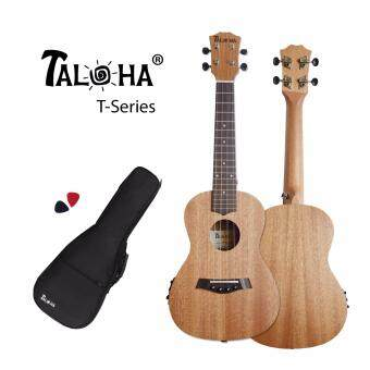 Harga TALOHA T-Series T-01C# Concert 23-inch Ukulele with pickup and tuner function (African Mahogany & Rosewood) + Free Padded Bag & Picks