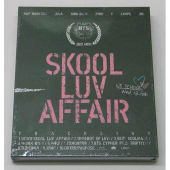 Harga BTS BANGTAN BOYS - Skool Luv Affair (2nd Mini Album) CD+Photobook+Photocard+Extra Photocards Set