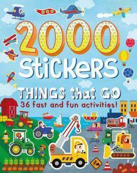 Harga 2000 Stickers Things That Go : 36 Fast and Fun Activities