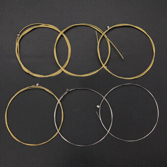 Harga 6pcs/ Set Acoustic Guitar String Strigning For Guitarra Bass Parts & Accessories Ballad Guitar Strings