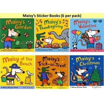 Harga Maisy's Sticker Books Collection (6 books per pack) - Free Shipping