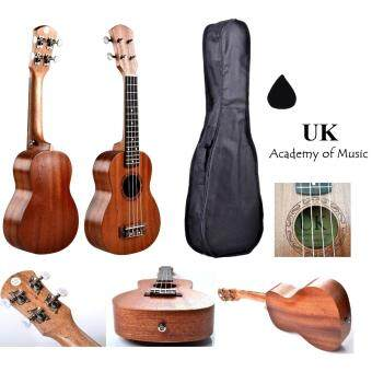 Harga UK Soprano Ukulele 21 Inch Professional Sapelle Wood With Free Ukulele Bag and Ukulele Pick