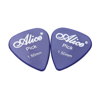 Harga Alice AP-P 20pcs 1.5mm Smooth ABS Guitar Picks Plectrum