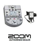 Harga Zoom A3 Pre-Amp and Effects for Acoustic Guitar with Original Zoom Adaptor (A-3)
