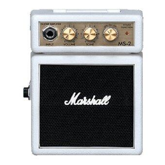 Harga Marshall Amplification MS-2W Mini Micro Battery Or AC Powered Amplifier White
