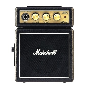 Harga Marshall MS-2 2W Electric Guitar Mini Amplifier Portable Practice Guitar Amp