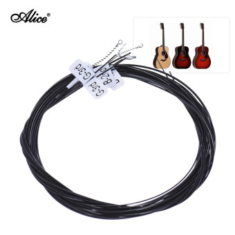 Harga Alice AC136BK-H Black Nylon Classical Guitar Strings 6pcs/set (.0285-.044) Hard Tension with One Complimentary G-3rd String