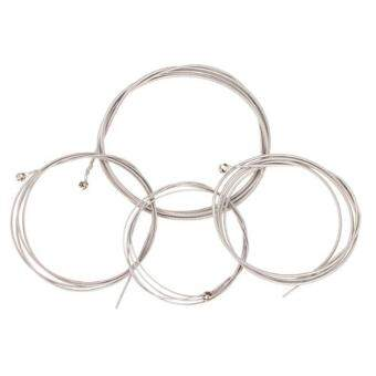 Harga Set of 4 String Bass Guitar Parts 4 Steel Strings