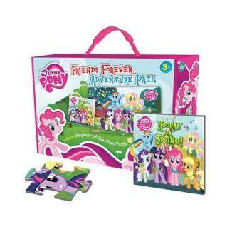 Harga My Little Pony: Friends Forever Adventure Pack with Giant Floor Puzzle and Storybook