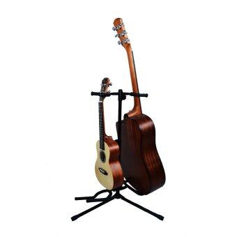 Harga Guitar Stand for Two Guitars (All kinds of guitars and ukulele)