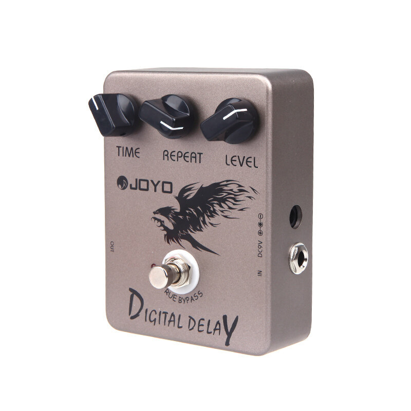 JF-08 Guitar Digital Delay Effect Pedal True Bypass Malaysia