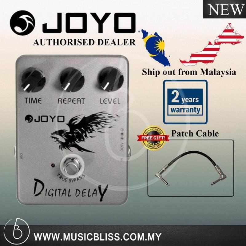 Joyo Digital Delay JF-08 Effect Pedal 2 Year Local Malaysia Warranty (Free Patch Cable) Malaysia