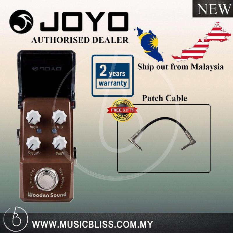 Joyo Wooden Sound-Acoustic Simulator JF-323 Effect Pedal 2 Year Local Malaysia Warranty (Free Patch Cable) Malaysia