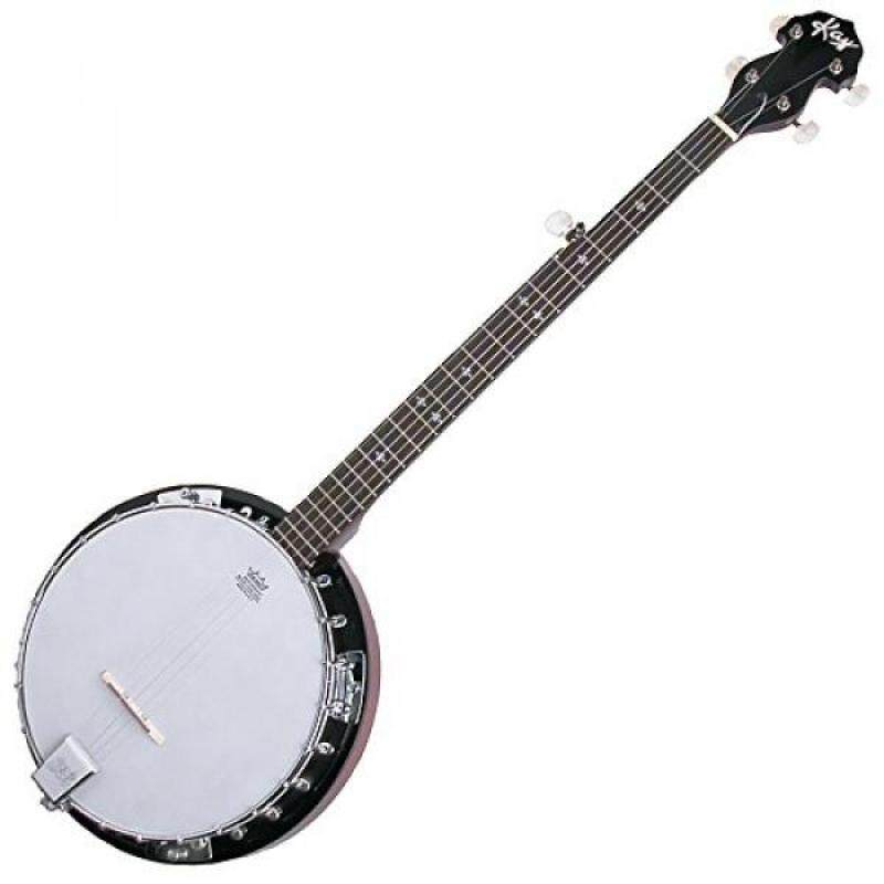 Kay KBJ24G Bluegrass Banjo Deluxe 24-Bracket Geared 5th String Peg Malaysia