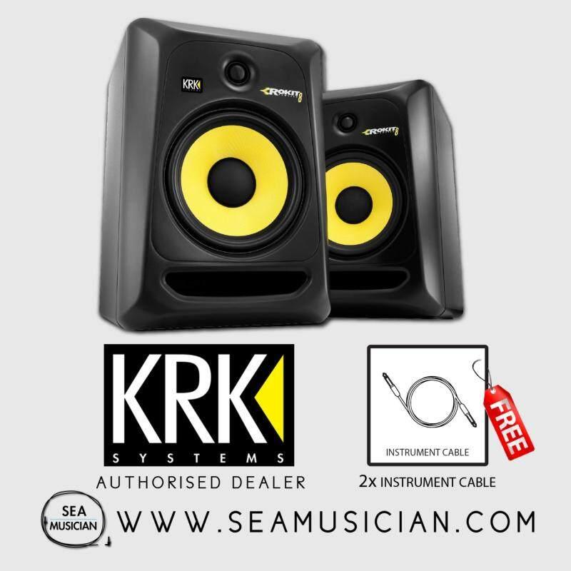KRK SYSTEM ROKIT 8 G3 STUDIO MONITOR (PAIR) Malaysia