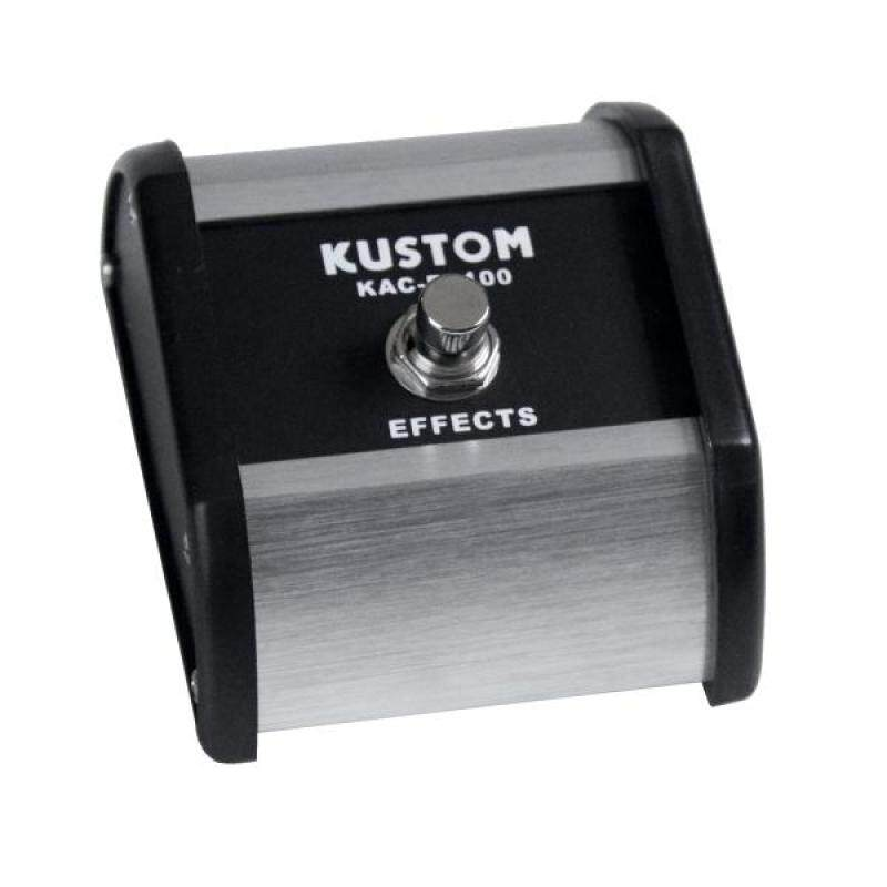 Kustom KAC FS100 Single Button Footswitch for Defender, KG, KMA, Sienna Malaysia