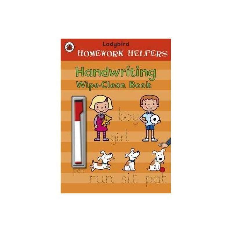Ladybird Homework Helpers: Handwriting Wipe-Clean Book Malaysia
