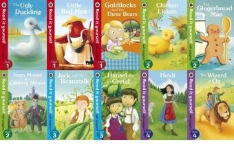 Ladybird Read It Yourself Level 1, Level 2, Level 3 & Level 4Combo Set - 10 books