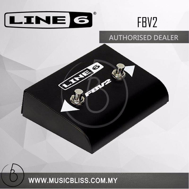 Line 6 FBV2 2 Button Foot Switch Malaysia