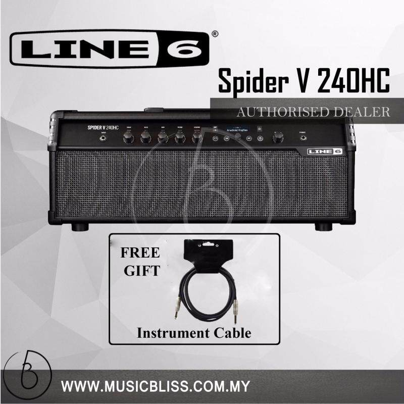 Line 6 Spider V 240HC Head and Combo Amplifier Free Cable Malaysia