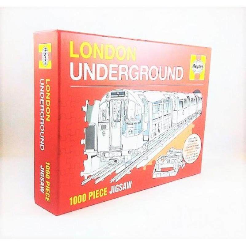 London: Underground - 1000 Jigsaw 9781910270936 Malaysia
