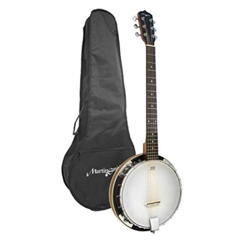 Martin Smith BJ-003 6 String Guitar Banjo Including Padded Gig Bag Malaysia