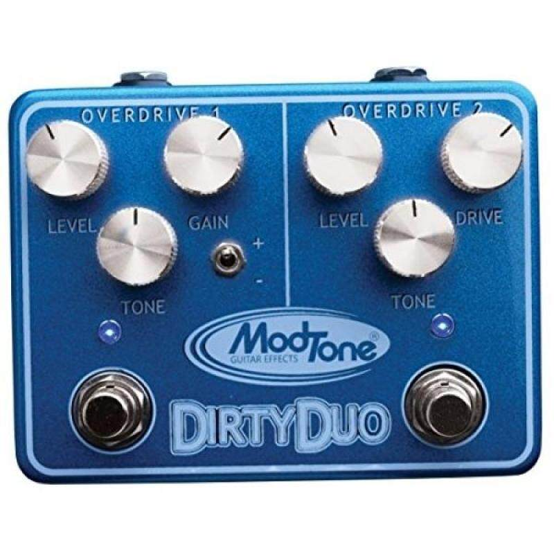 ModTone Guitar Effects MT-DUO Dirty Duo Dual Overdrive and Distortion Guitar Effects Pedal Malaysia