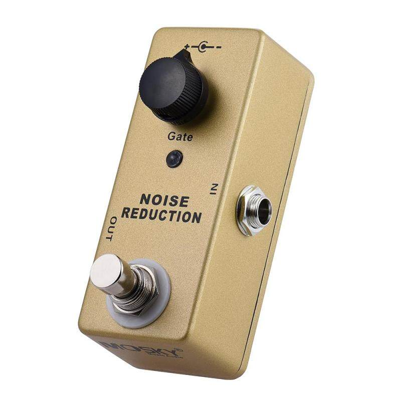 MOSKY MP-40 Noise Gate Noise Reduction Suppressor Mini Single Guitar Effect Pedal True Bypass Gold Color Outdoorfree Malaysia