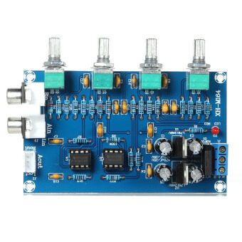Harga NE5532 Stereo Pre-amp Preamplifier Tone Board Audio 4 Channels Amplifier Board
