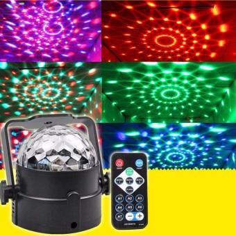 Harga New LED RGB Magic Ball Disco Crystal Effect DJ KTV Bar Dance PartyStage Light