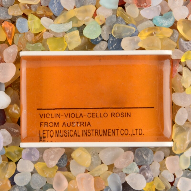 New Natural Light Rosin For Violin Bow Strings Orchestra Amber High Quality Malaysia