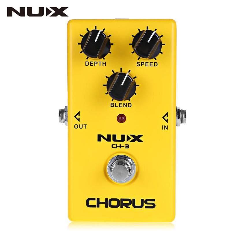 NUX CH - 3 Chorus Guitar Effect Pedal True Bypass Design Malaysia