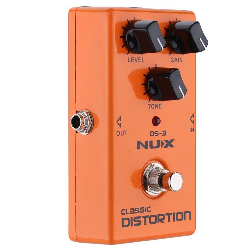 NUX Classic Distortion Electric Guitar Effect Pedal True Bypass Malaysia