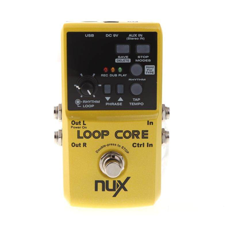 NUX Loop Core Guitar Electric Effect Pedal 6 Hours Recording Time Built-in Drum Patterns Malaysia