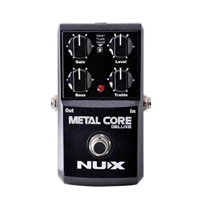 NUX METAL Core Deluxe Extreme Metal distortion Guitar Effects Pedal Upgraded mode High Gain 2 models Malaysia