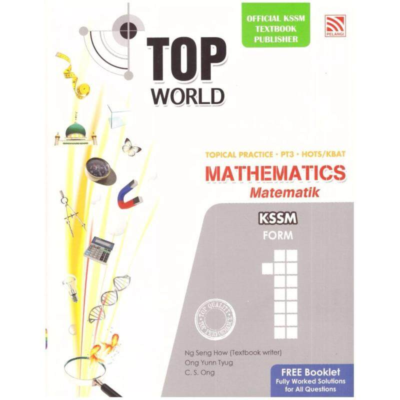 Pelangi Top World Mathematics Form 1 Malaysia