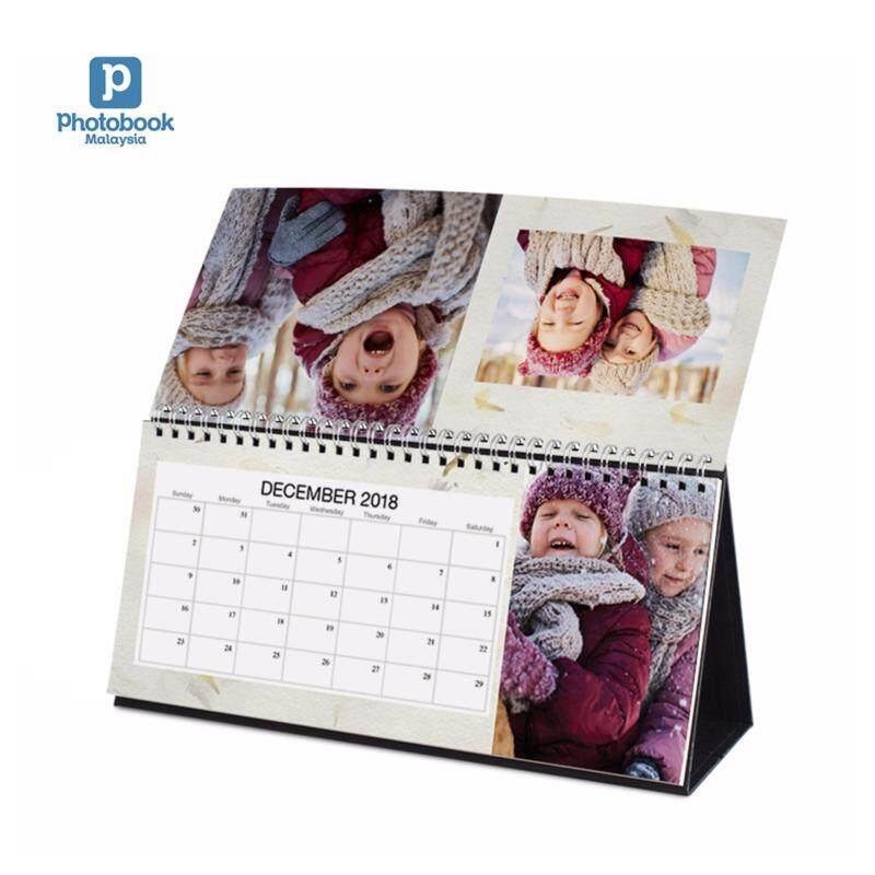 "Photobook Malaysia 11"" x 5"" Desk Calendar Malaysia"