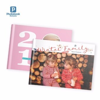 "Photobook Malaysia 14"" x 11\"" Large Landscape Imagewrap Lay Flat Photo Book, 22+2 Pages"