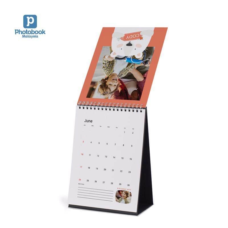 "Photobook Malaysia 6"" x 8"" Desk Calendar Malaysia"