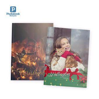"""Photobook Malaysia 8"""" x 11"""" Medium Portrait Softcover Photo Book, 40 Pages"""