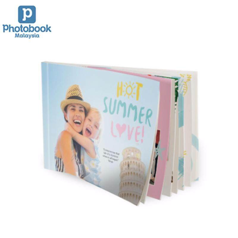Photobook Malaysia 8 x 6 Small Landscape Softcover Photo Book, 40 Pages Malaysia