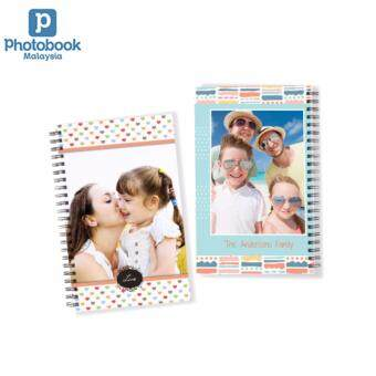 "Harga Photobook Malaysia Personalized Notebook 5""x8"" - 2 Identical Copies"