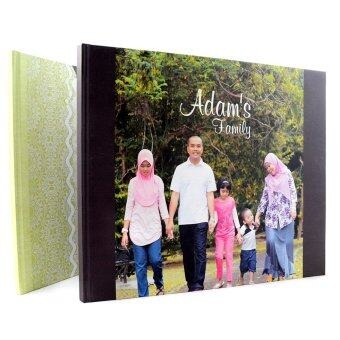 Pixajoy Photobook: 11'' x 15'' Cool Image Wrap Hardcover Photo Book, 40 Pages